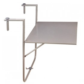 Table bistro pliable gris